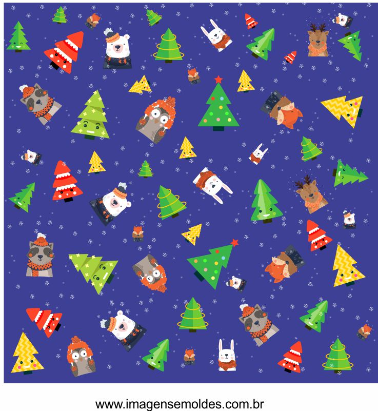 Papel Digital de Natal