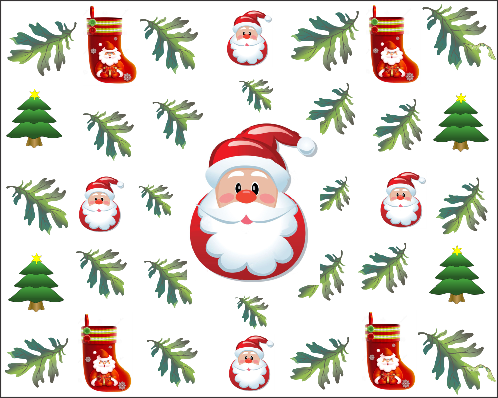 papel digital de papai noel
