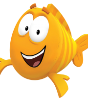 Imagem de Personagens Bublle Guppies - Mr. Grouper