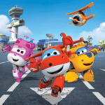 Super Wings – Background Super Wings 3 PNG