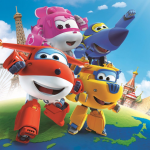 Super Wings – Background Super Wings 4 PNG
