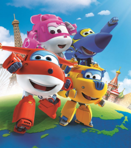 Super Wings - Background Super Wings 4