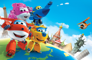 Super Wings - Background Super Wings 7