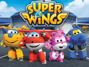Super Wings - Background Super Wings