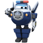 Super Wings – Paul Super Wings 2 PNG