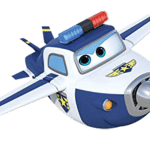 Super Wings – Paul Super Wings 3 PNG