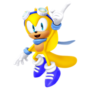 Sonic - Ray the Flying Squirrel