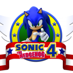 Sonic – Sonic 4 The Hedgehog Logo 2 PNG