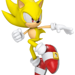 Sonic – Sonic Amarelo 16 PNG