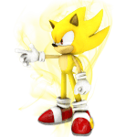 Sonic – Sonic Amarelo 4 PNG