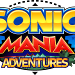 Sonic – Sonic Mania Adventures Logo PNG