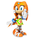 Sonic – Tikal the Echidna PNG