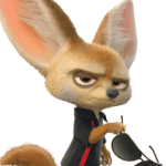 Zootopia – Finnick the Fennec Fox PNG