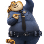 Zootopia – Benjamin Clawhauser PNG 02