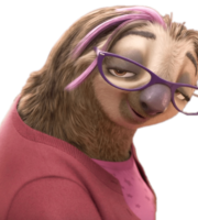 Zootopia - Priscilla the Sloth PNG