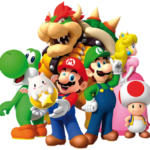 Super Mario – Personagens Super Mario PNG 01