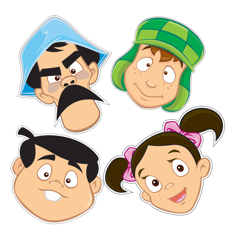 Turma do Chaves - PNG
