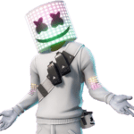 Fortnite Marshmello Skin Sticker – Marshmello Fortnite HD Png Download