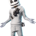 Marshmello Fortnite Png Transparent Image