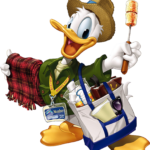 Mickey – Donald PNG 04