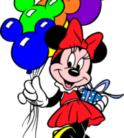 Mickey - Minnie Mouse PNG