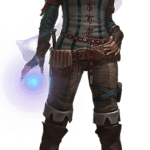 The Witcher PNG Merigold