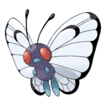 Butterfree Pokémon PNG