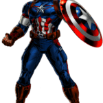 Cartoon Filme Marvel Capitão América PNG