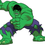Cartoon Hulk PNG