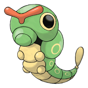 Caterpie Pokémon PNG