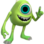 Disney Mike Wazowski Monstros Sa PNG
