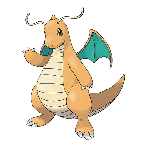 Dragonite Pokémon PNG