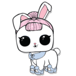 LOL PNG Pet Crystal Bunny – Pets Lol PNG