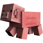 Porco Minecraft PNG