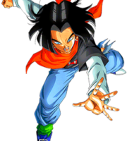 Androide 17 Goku PNG