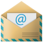 Carta Email PNG