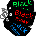 Etiqueta Black Friday PNG