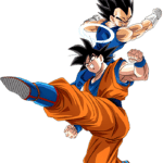 Goku And Vegeta PNG