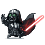Cartoon Darth Vader PNG – Star Wars PNG
