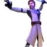 Cartoon Obi-Wan Star Wars PNG