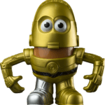 Cartoon Star Wars PNG C-3PO PNG