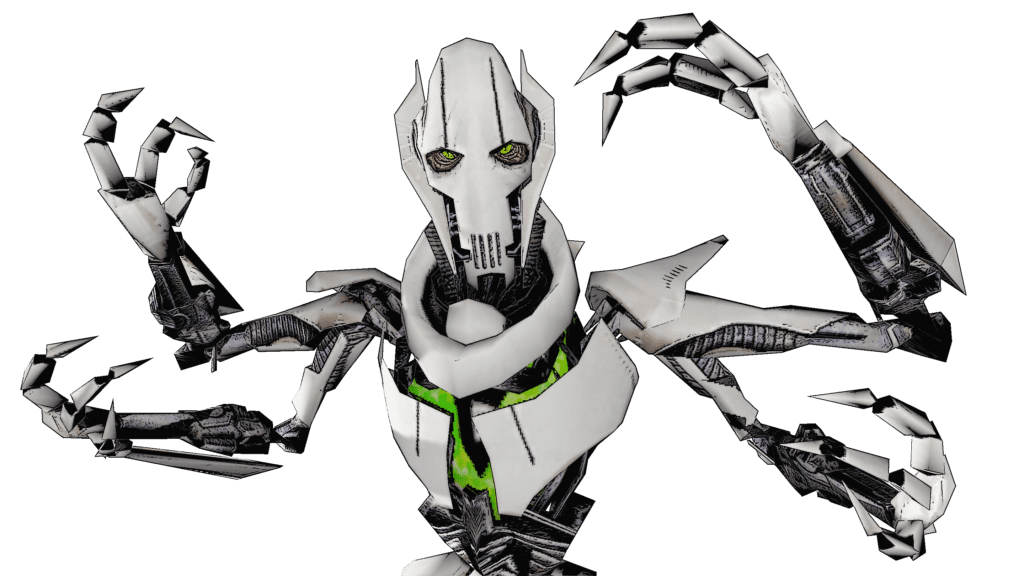 General Grievous Star Wars PNG