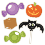 Doces Travessuras Halloween PNG