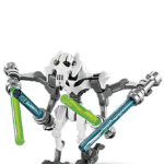 Figura Lego General Grievous Star Wars PNG