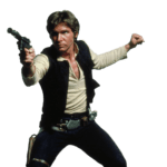 Foto Han Solo PNG Star Wars PNG