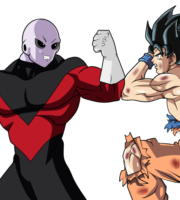 Goku Vs Black Goku PNG
