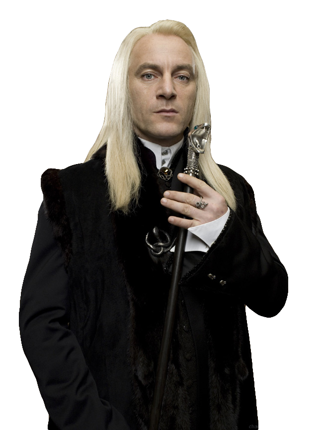 Imagem Lucios Malfoy Harry Potter PNG