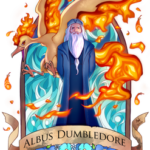Lápide Alvo Dumbledore Harry Potter PNG