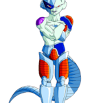 Mecha Freeza Goku PNG