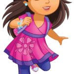 Figura Dora – Dora and Friends PNG